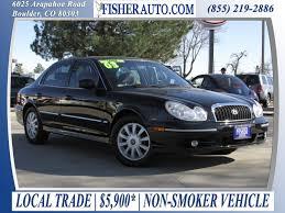 hyundai sonata 2003 used cars 10 000 2003 hyundai sonata gls black 5 900
