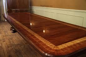 large mahogany dining room table regency transitional u0026 american