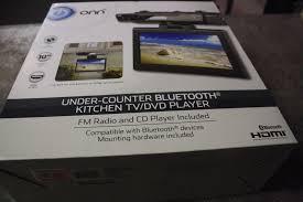 Tv Under Kitchen Cabinet Onn Ona16av011 Under Kitchen Cabinet Tv Dvd Player 10
