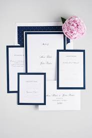 wedding invitations navy sophisticated navy wedding invites shine wedding invitations