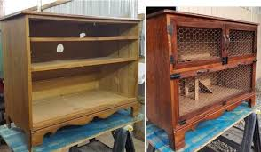 upcycled rabbit hutch from dresser 8 steps with pictures