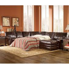 Sectional Sleeper Sofas With Chaise by Leather Sectional Sleeper Sofa