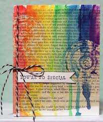 mixed media paper crafting you re so special card