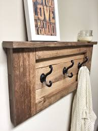 Wood Shelves Images by Best 25 Pallet Coat Racks Ideas On Pinterest Coat Rack Shelf