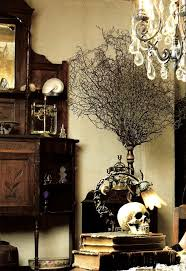Halloween Home Decorating 21 Gorgeous Gothic Home Office And Library Décor Ideas Digsdigs