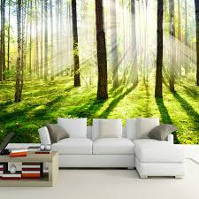 compare prices on wall murals bedrooms online shopping buy low custom 3d photo wallpaper hd sunshine woods forest living room sofa bedroom tv background wall mural