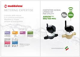 Radio Modules For Water Meters Press Our Publications Maddalena S P A