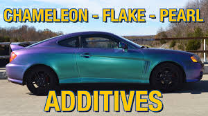 color changing paint metal flake chameleon u0026 pearl additives