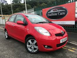 2010 10 toyota yaris tr vvt i 1 3 petrol 6 speed manual low miles
