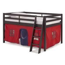 twin low loft bed wayfair
