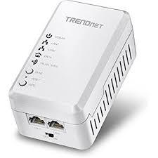 Tpl 308e2k Amazon Com Trendnet Powerline 500 Av Mini Network Starter Kit