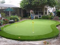 Backyard Putting Green Designs by Simple Ideas Outdoor Putting Green Pleasing Artificial Putting
