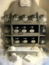 bocaux cuisine étagères à bocaux minéral