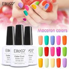 cure nail polish with uv l elite99 10ml macaron colors uv gel nail polish need uv led l