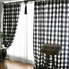 Grey Plaid Curtains Plaid Curtains Free Home Decor Techhungry Us