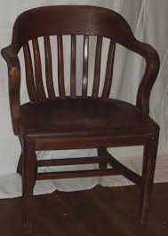 Wooden Office Chairs With Casters Antique Wooden Desk Chair