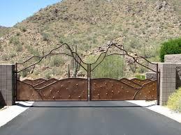 Garden Boundary Ideas by Download Driveway Fence Ideas Garden Design