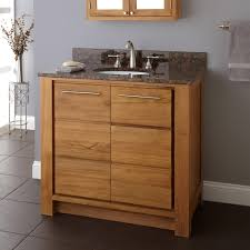 Teak Bathroom Cabinet 36 Venica Teak Vanity For Undermount Sink Teak Bathroom