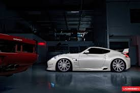 custom nissan 370z vossen nissan 370z u0027purple u0027 miami based wheel nissan 370z
