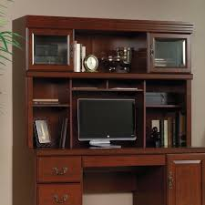 Sauder Orchard Hills Computer Desk With Hutch Carolina Oak by Computer Desk And Hutch 97 Outstanding For Computer Desk With