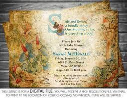 peter rabbit baby shower invitations kawaiitheo com