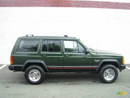 jeep cherokee sport green 1996 moss green pearl jeep cherokee sport 18642954 photo 6