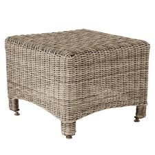 rattan side table outdoor outdoor side table new hshire rattan oka
