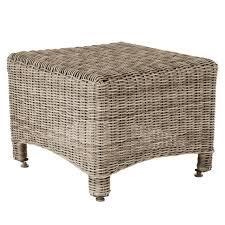 rattan coffee table outdoor outdoor side table new hshire rattan oka