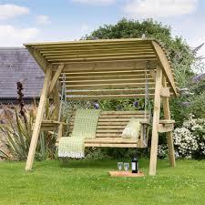 3 Seater Garden Swing Chair Miami Two Seat Garden Swing Seat Internet Gardener