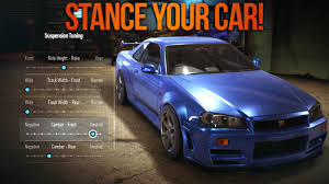 cambered supra need for speed 2015 how to stance u0026 remove parts of your car nfs
