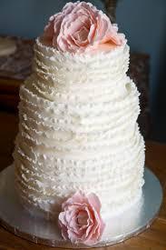 peony frilly wedding cake cakecentral com