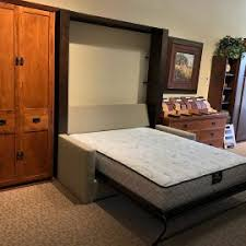 Wall Mounted Folding Bed Murphy Bed With Couch In Front Full Wall Bed Unit With Drawers In