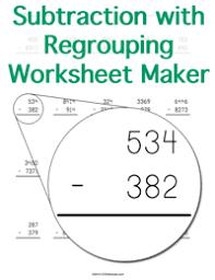 negative exponents worksheet maker customizable