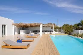 luxury beach house in paros