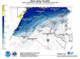 Snowfall Totals Map Another Quick Shot Of Cold Arrives Thursday But Will There Be