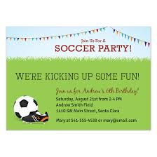 soccer party invitations u0026 cards on pingg com