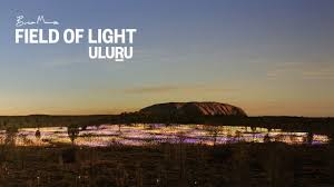 field of light uluru field of light uluru at ayers rock resort youtube