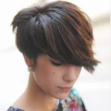 pixie cut styles for thick hair short hairstyles for thick hair