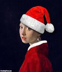 vermeer pearl earrings girl with pearl earring at christmas by vermeer la ragazza con