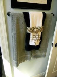 Bathroom Towel Design Ideas Ways To Hang Bathroom Towels