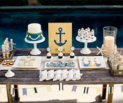 anchor theme baby shower anchors away baby shower pottery barn kids