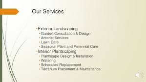 Interior Garden Services Green Office Garden Services Pres4dec16