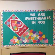 Valentines Door Decorations Classroom by Valentines Day Sweethearts Bulletin Board Idea Myclassroomideas Com