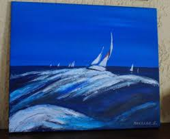 peinture de bord de mer la peinture bord de mer création martine g