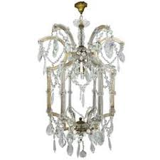 Vintage Crystal Chandelier For Sale Italian Eight Light Maria Theresa Style Vintage Crystal Chandelier