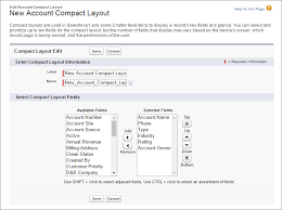 user layout en español customize record highlights with compact layouts unit salesforce
