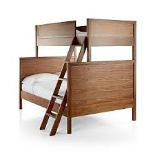 Bunk Beds Wood Wood Bunk Beds Crate And Barrel