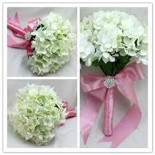 fleur artificielle mariage bouquet fleur artificielle mariage hortensia blanc achat vente