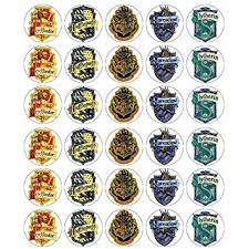 amazon harry potter cupcake toppers edible wafer paper buy 2