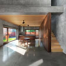 beaumont house montreal architected henri cleinge architecture small modern kitchen and dining room combined together dazzling house design with wood round